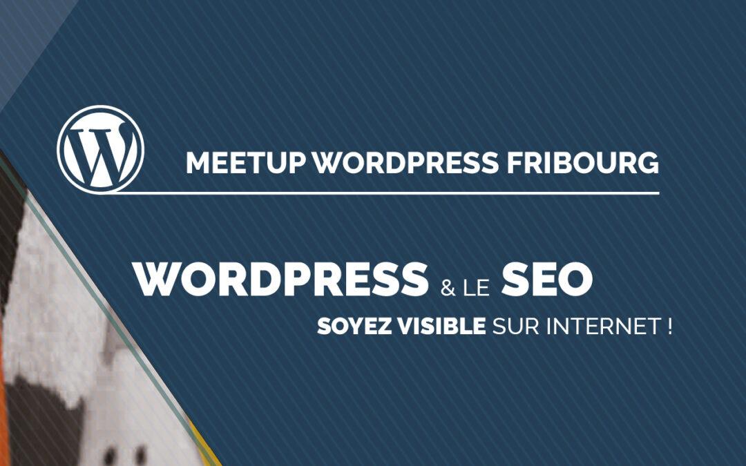 WordPress et le SEO — une conférence